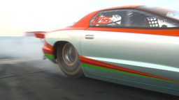 HD2009-6-21-8 firebird burnout Stock Video Footage