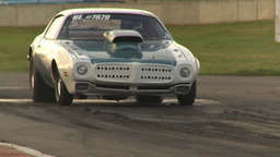 HD2009-6-21-20 firebird burnout through frame Footage