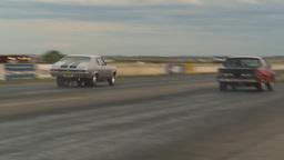 HD2009-6-21-24 street ET race Stock Video Footage