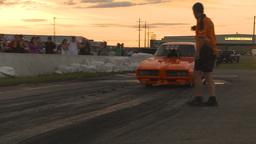 HD2009-6-21-28 TAFC burnout Stock Video Footage