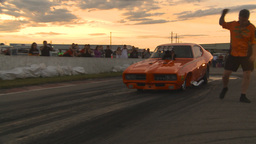 HD2009-6-21-28 TAFC burnout Stock Video Footage