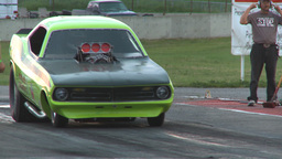 HD2009-6-21-30 old school TAFC burnout Stock Video Footage