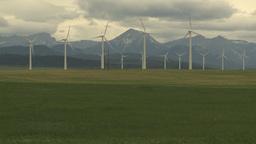 HD2009-6-22-1 Wind turbines Stock Video Footage