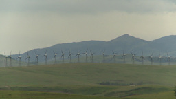 HD2009-6-22-5 Wind turbines Stock Video Footage