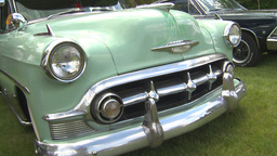 HD2009-6-22-10 early 50s chev montage Footage