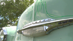 HD2009-6-22-10 early 50s chev montage Stock Video Footage