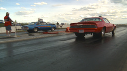 HD2009-6-22-14 motorsports, drag racing Stock Video Footage