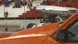 HD2009-6-22-22 motorsports, drag racing snap zoom back Stock Video Footage