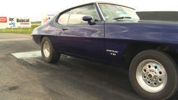 HD2009-6-22-28 motorsports, drag racing purple pontiac... Stock Video Footage