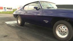 HD2009-6-22-28 motorsports, drag racing purple pontiac burnout Footage