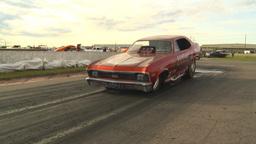 HD2009-6-22-37 motorsports, drag racing nostalgia nova... Stock Video Footage
