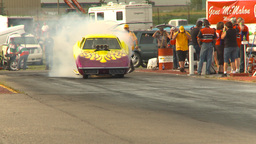 HD2009-6-22-41 motorsports, drag racing nostalgia... Stock Video Footage