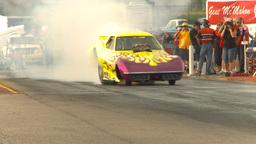 HD2009-6-22-41 motorsports, drag racing nostalgia... Stock Video Footage