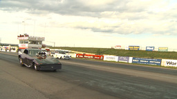 HD2009-6-22-45 motorsports, drag racing nostalgia funny... Stock Video Footage