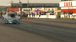 HD2009-6-22-47 motorsports, drag racing Top alcohol funny... Stock Video Footage