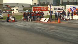 HD2009-6-22-49 motorsports, drag racing Top alcohol... Stock Video Footage
