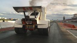 HD2009-6-22-53 motorsports, drag racing Smokin gun diesel... Stock Video Footage