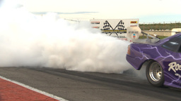 HD2009-6-22-55 motorsports, drag racing jet car show Stock Video Footage