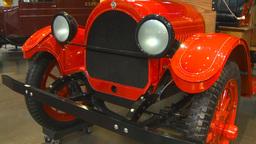 HD2009-6-23-11 very old trucks 3-shot Stock Video Footage