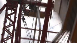 HD2009-6-24-7 old ferris wheel Stock Video Footage