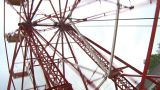 HD2009-6-24-9 Old Ferris Wheel stock footage