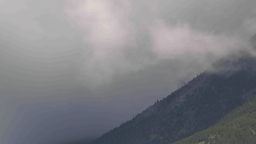 HD2009-6-22-1 clouds and mountains TL Stock Video Footage