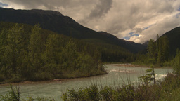 HD2009-6-22-11 river mountains Stock Video Footage