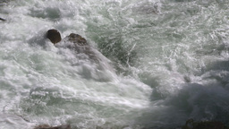 HD2009-6-22-19 wild river overhead Footage