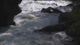 HD2009-6-22-21 wild river overhead Footage
