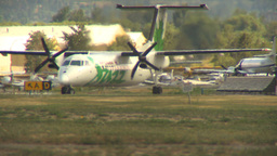 HD2009-6-26-17 Dash8 taxi LLL Footage
