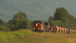 HD2009-6-27-7 freight train Footage
