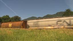 HD2009-6-27-9 freight train Footage