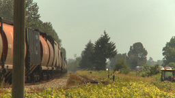HD2009-6-27-15 freight train Stock Video Footage