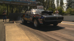 HD2009-6-27-25 motorsports, drag racing camaro burnout Footage