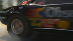HD2009-6-27-25 motorsports, drag racing camaro burnout Stock Video Footage