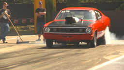 HD2009-6-27-27 motorsports, drag racing dodge burnout Footage