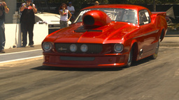 HD2009-6-27-33 motorsports, drag racing promod mustang burnout Footage