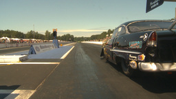 HD2009-6-27-39 motorsports, drag racing promod launch twisty Stock Video Footage