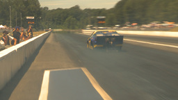 HD2009-6-27-41 motorsports, drag racing promod launch Stock Video Footage