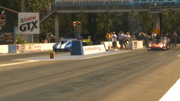 HD2009-6-27-43 motorsports, drag racing promod launch Stock Video Footage