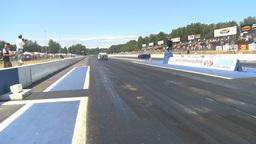HD2009-6-27-45 motorsports, drag racing promod 55 chev... Stock Video Footage