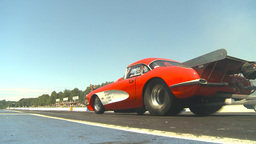 HD2009-6-27-47 motorsports, drag racing doorslammer... Stock Video Footage