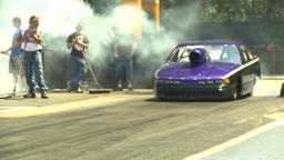 HD2009-6-27-49 motorsports, drag racing doorslammer... Stock Video Footage