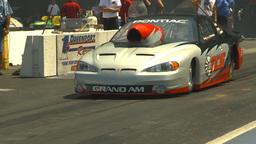 HD2009-6-27-51 motorsports, drag racing Prostock pontiac Stock Video Footage