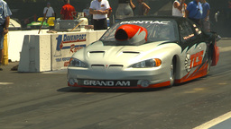 HD2009-6-27-51 motorsports, drag racing Prostock pontiac Stock Video Footage