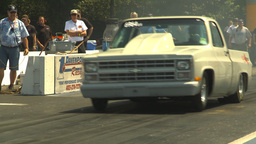 HD2009-6-27-53 motorsports, drag racing doorslammer... Stock Video Footage