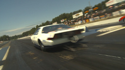 HD2009-6-27-55 motorsports, drag racing doorslammer... Stock Video Footage