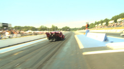 HD2009-6-27-57 motorsports, drag racing doorslammer... Stock Video Footage