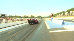 HD2009-6-27-57 motorsports, drag racing doorslammer... Stock Video Footage