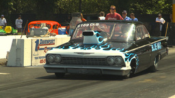 HD2009-6-27-61 motorsports, drag racing doorslammer 62... Stock Video Footage